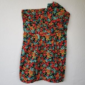 Torrid  Sleeves Floral Party Dress size 20